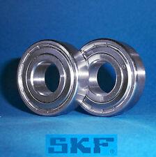 2 Kugellager 6004 ZZ / 2Z / Markenware SKF / 20 x 42 x 12 mm