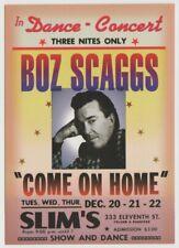 "BOZ SCAGGS ""Come On Home"" Album Postcard Tower Records 1997"
