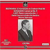 32 Variations/carnaval, Op. 9/piano Concerto (Cziffra) CD (2007)