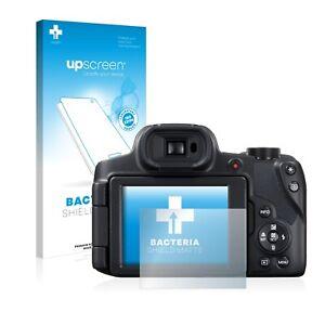 Schutz Folie für Canon PowerShot SX70 HS Anti Bakteriell Matt