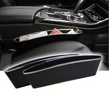Schwarz Fang Catcher Box Caddy Auto-Sitz Gap Slit-Taschen-Speicher-Organisator