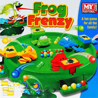 Frog Frenzy Board Game Hungry Frogs Hippos Gift Christmas Children Kids Toy New