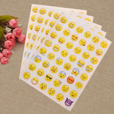 Smile Face Sticker Scrapbook DIY Expression Emoticon Decor Diary Album New 5pcs