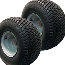 2) 20x10.00-8 Tires Wheels Rims Garden Tractor / Zero Turn / Riding Lawn Mower