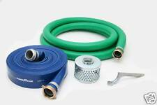 "3"" PVC WATER SUCTION AND WATER DISCHARGE HOSE KIT"
