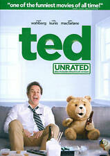 Ted (DVD, 2012, UNRATED) - Mark Wahlberg