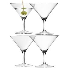 LSA Bar Martini Glass 180ml Clear - Set of 4