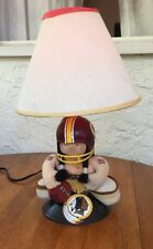 Vintage 1983 NFL Huddles Washington Redskins working Lamp Rare Tudor Games