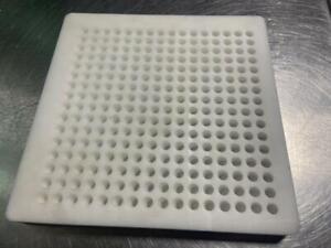 256 Count Vial Cartridge Liquid Filling Fixture Tray