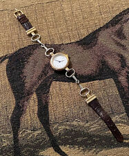 Tempi Watchworks Horse Jumper Watch Equestrian Leather & Horse Bit Design
