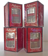 4 x Infamous EDT Pour Homme Eau de Toilette 50ml - Mens Fragrance - 4 Bottles