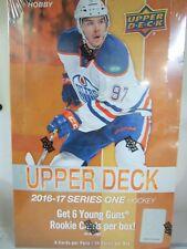2016-17 UPPER DECK SERIES 1 HOCKEY HOBBY SEALED BOX