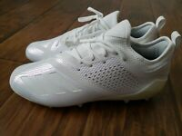 Adidas Adizero 5-Star 7.0 Low Football Cleats Triple White