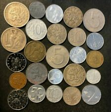 Old Czechoslovakia Coin Lot - 1922-PRESENT - 25 Great Coins - Lot #N23