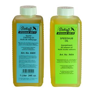 ROHLOFF Getriebe Öl + Spülung als Vorratsflaschen je 250ml oder 1 Liter Flaschen