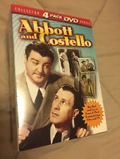 Abbott and Costello Collectors 4 Pack DVD Series (2002) NEW