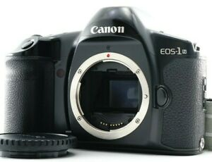 Excellent Canon EOS-1N 35mm SLR Film Camera w/Strap ForEF From JAPAN TESTED