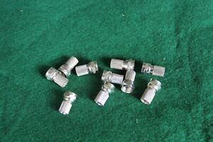 10 x Twist-on F connector for RG6 coaxial cable