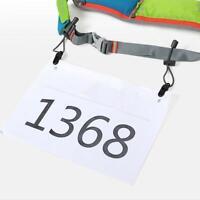 Sport Triathlon Marathon Running Race Number Holder Waist Bib Belt Unisex Belt
