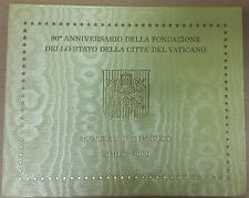 Vatican Official Euro Coin Set BU 2009 from 1 cent to 2 euro