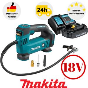 Makita Akku Kompressor DMP180Z 18V 8,3 bar Druck Luftpumpe inkl.1xAkku+Ladegerät