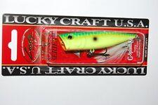 "lucky craft g splash 80 bass topwater 3"" 3/8oz peacock"