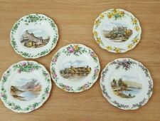 Traditional British Songs Royal Albert Set Five Small Plates Bone China