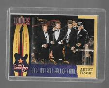 2013 Panini The Beach Boys - ROCK & ROLL HALL of FAME - Artist's Proof #1- #d/99
