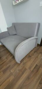 2-Seater Sofa Bed- Grey