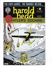 "HAROLD HEDD in ""Hitler's Cocaine"" #2 Rand Holmes Story+COLOR ART Kitchen Sink'84"