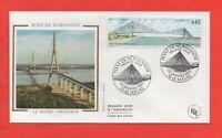 FDC - Le pont de Normandie - LE HAVRE - HONFLEUR   (416)