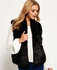 Petit gilet ou veste sans manches en fourrure  vison d'elevage, sur commande