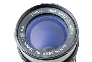 [Excellent Canon FD 135mm f/3.5 S.C Manual focus Lens From Japan #705163