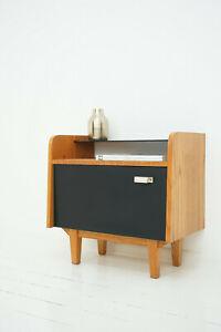 50er 60er Kommode Nachtschränkchen Nightstand Sideboard Rockabilly Vintage 2/2