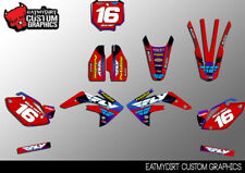 FOR HONDA CRF 150R 2007-2017 CUSTOM GRAPHICS KIT MX DECALS MOTOCROSS STICKERS
