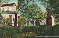 Postcard Helen Keller Birthplace Tuscumbia Alabama