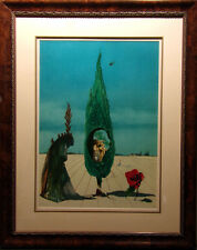 Salvador Dali Enigma Of The Rose Hand Signed Original Lithograph Make an Offer
