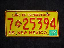 NEW MEXICO USA ★ LAND OF ENCHANTMENT ★ USA Auto Kennzeichen ★ Original! 725394