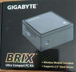 Gigabyte Brix Mini-PC - Celeron 2807 CPU, 8gb RAM, 256gb SSD, Windows 10