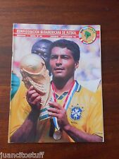 CONMEBOL magazine #36 BRAZIL FIFA USA 94 WORLD CUP Champion
