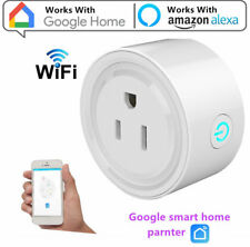 Google Home Smart Socket Wi-Fi Outlet Plug Switch Works with Alexa Android IOS