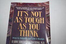 Abraham Twersky It's Not As Tough As You Think Judaica Twerski