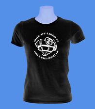 Girlie Damen Shirt Sign of Liberty Berlin Herzgranate move2be XS S M schwarz