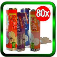Dextrose 80 x Rollen Traubenzucker ENERGY | Gemischter Geschmack  ►Händler◄