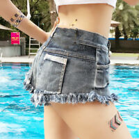 Sexy Women Shorts Jeans High Waist Mini Club Party Beach Summer Denim Pants 2018