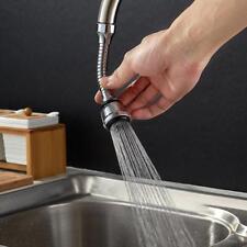 Flex Sink Faucet Sprayer Flexible Kitchen Double Swivel Attachment Universal w/
