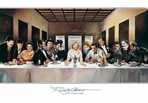 INVITATION - Casaro 100x70 Elvis Kunstdruck Poster Plakat Bild  NEU