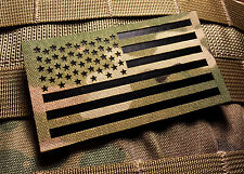 "Standard Infrared Multicam IR US Flag Patch 3.5x2"" Special Forces Green Beret"