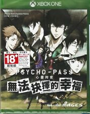MSRNY XBOX ONE PSYCHO-PASS Mandatory Happiness Asian version Chinese subtitle