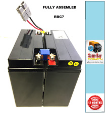 More details for apc rbc7 - ups replacement battery pack, assembled, includes connector & leads